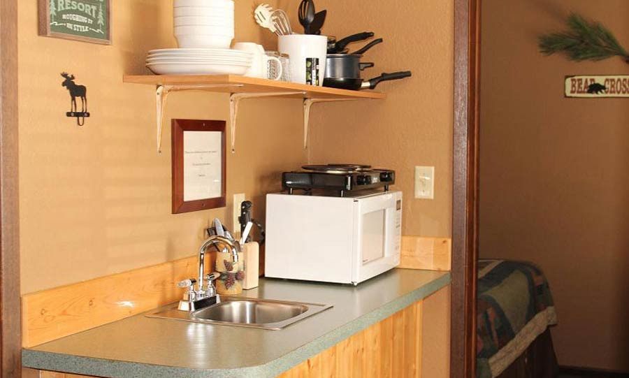 Evergreen kitchenette